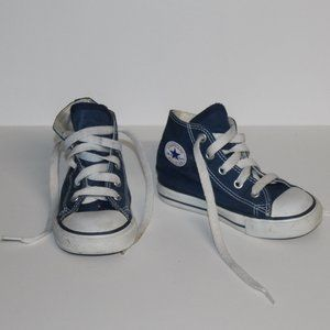 Toddler Converse all star chuck Taylor Navy Hi-Top